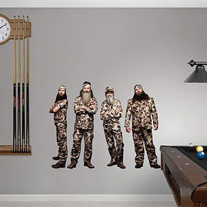 Duck Dynasty Collection Fathead Wall Decal